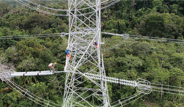 Sarawak 500 KV Backbone Transmission Line Project