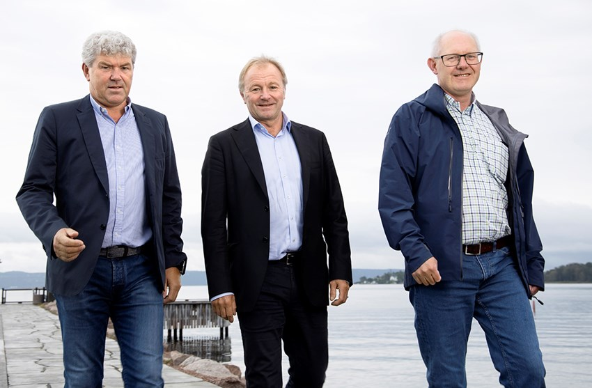 From left: Jan Henning Quist, ECT, Bård Hernes, Norconsult and Jon Aas, ECT